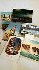 Lot of 6 Vntg Us West Postcards: 2 Holiday Inn, Prairie Dog Town; Kansas Tornado
