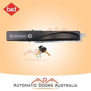 B&D Deluxe Roller Door Lock assembly kit with 2 keys BD 9052