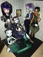 Monster Hight doll lot Witch Elements! (5 Dolls)