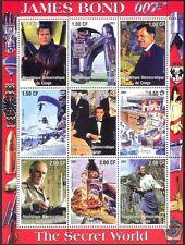 Congo Car & Motoring Postal Stamps
