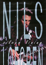 NILS LOFGREN 1991 SILVER LINING PROMO POSTER ORIGINAL