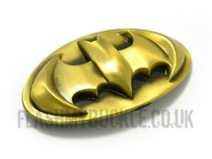 Batman Belt Buckle - Finished in a bronze/brass colour - very cool