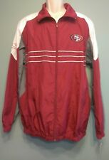 NFL Sports Illustrated Size Large San Francisco 49ers Windbreaker Zip Up Jacket