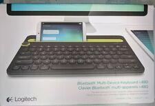 Logitech K480 Bluetooth Keyboard 920-006342 for PC/Mac/Tablets/Smart Phone Black