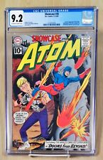 Showcase #35 CGC 9.2 OWW Pages 2nd Silver Age Atom