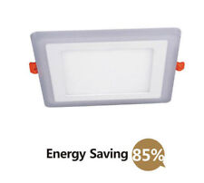 Empotradas En El Techo Panel LED Luz 24W 18W BLANCO 6w Azul 3mode Mood Lighting