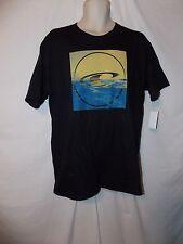 mens O'Neill  surfer t-shirt L nwt anomaly black