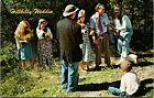 Hillbilly Wedding Redneck Funny Vintage Hillbilly Calendars Postcard