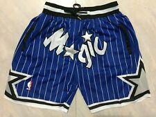 Orlando Magic mens blue stripe pocket short pants S-2XL