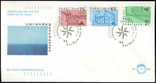 Netherlands 1989 Sailing Vessels FDC First Day Cover #C27944