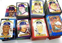 1982 1983 1985 1986 1987 1988 1989 1990 1991 Donruss Diamond Kings 900 Card Lot
