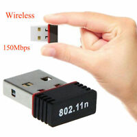 Wireless 150Mbps USB Adapter WiFi 802.11n 150M Network Lan Card For Computer PC