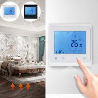 Ee _ Jn _ 16A Wifi Voz Termostato LCD Eléctrico Suelo Temperatura Controlador