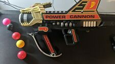 Vintage 1994 Power Rangers Power Cannon w/ Original Multi-Colored Ammo!