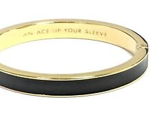 Kate Spade Ace Up Your Sleeve HInged Bracelet NWT Las Vegas Collection Luck!