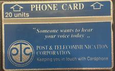 Telecarte / Phonecatd Papouasie