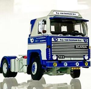 "Scania 141 4x2 ""Van Bentum"" WSI truck models"