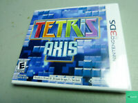 Tetris: Axis (Nintendo 3DS, 2011)  New FACTORY SEALED