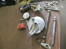 1969 Honda CL125 Finned Rectifier Electrical Harness Rear Hub Gas Cap Parts Lot