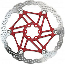 Hope 203mm Floating 6-Bolt Disc Rotor Red