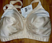 Amoena Ava Mastectomy Bra 36D Style# 2115 NWT Pearl Soft Cup Pocketed No Wire