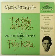 """7"""" Single - Klaus Kammer - Der Schlag Ans Hoftor Und Andere Kurze Prosa - S2119"""
