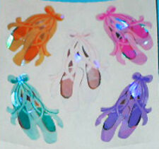BALLET SLIPPERS Shiny Stickers - Sandylion Stickers - FREE SHIPPING OFFER