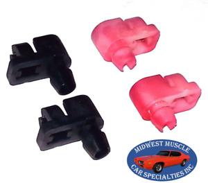 Mopar Chrysler Dodge Plymouth Door Lock Handle Rod Latch Clips Retainer 4pcs OF