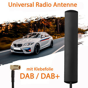 DAB Antenne für Auto DAB+ Adapter Aktiv Autoradio Pkw Digitalradio SMB 5 M Kabel