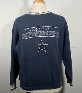 Dallas Cowboys Starter Retro Vintage V Neck Classic Collection Men's L Sweater