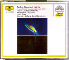 Berlioz: ROMEO et Juliette Yvonne Minton Francisco Araiza Bastin Barenboim 2cd