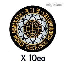 Taekwondo Kukkiwon Patch X 10ea (Diameter : 3.5 inch)