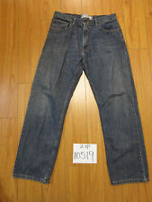 Levi 559 relaxed straight fit jeanTag 33x32 Meas 32x30 zip10519