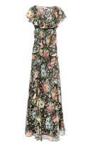 BNWT PAUL & JOE Floral Print Silk-Chiffon Ruffled Maxi Dress. UK 12. RRP £995