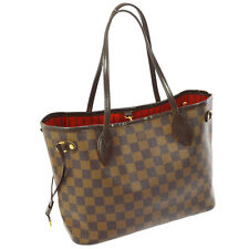 AUTHENTIC LOUIS VUITTON NEVERFULL PM HAND TOTE BAG PURSE DAMIER N51109 A33743