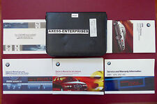2001 BMW E46 3-Ser 320i 325i 325xi 330i 330xi Owner Manuals Books Pouch Set P157