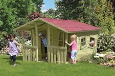 Kinderspielhaus Crazy Felix Kinderhaus Spielanlage Spielhaus Haus Holz Neu kdi