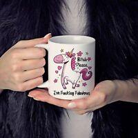 Bitch Please Coffee Mug - I'm Fu**ing Fabulous - Unicorn Mug - Funny Mug