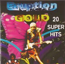 CD - Eruption - Gold - 20 Super Hits - #A1172 - RAR