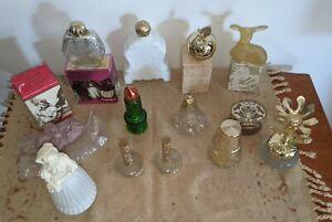 Lot 13 Vintage Avon Cologne Perfume Soap Bottles Empty Sweet Honesty Floral