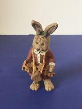 Vintage Sarah's Attic~ Limited Edition ~ Christmas Rabbit ~ 1991