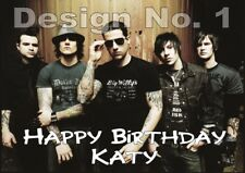 Avenged Sevenfold PERSONALISED Birthday Card any NAME AGE Dad Son Daughter ANY U