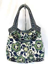 Fossil Large Hobo Shoulder Bag Tote Womens Multicolor Floral Canvas Purse