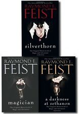 Raymond E. Feist Riftwar Saga 3 Books Collection Set Pack Magician, Silverthorn