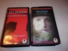 (5) Lisa Jackson romance/suspense unabridged audio