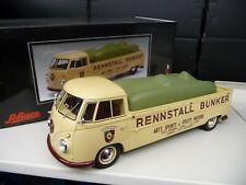 1:18 Schuco VW T1 Renntransporter Rennstall Bunker NEU NEW
