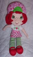 "Those Characters Strawberry Shortcake Doll 15"" Plush Soft Toy Stuffed Animal"