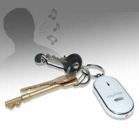 Key Finder & Locator -Anti Lost Keychain w/Tracker Whistles Sound &LED Light