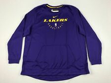 NEW Nike Los Angeles Lakers - Men's Purple Dri-Fit Sweatshirt (3XLT)