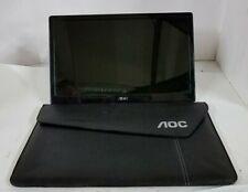 """AOC E1659FWU 156LM00005 15.6"""" 1366 X 768 PORTABLE USB MONITOR W/ SOFT CASE"""
